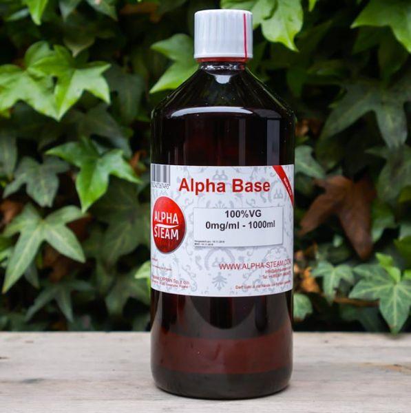 Alpha Base 100% VG | 1000ml