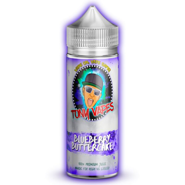 Blueberry Buttercake | Tony Vapes - Release Feb 2018
