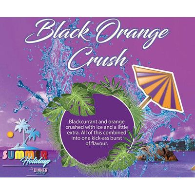 Black Orange Crush | Summer Holidays - 50ml