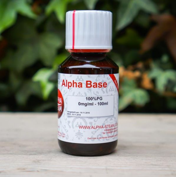 Alpha Base 100% PG | 100ml